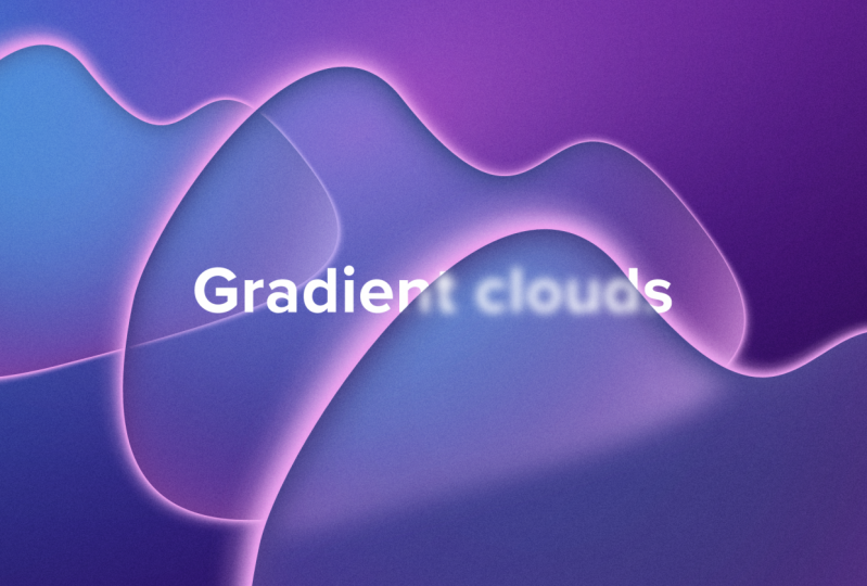 Playing with gradients