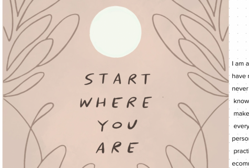 Mindful Growth - Starts where you are