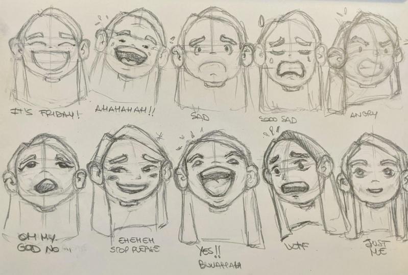 Character Illustration class