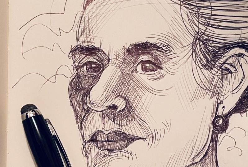 Ballpoint Pen Portrait #1