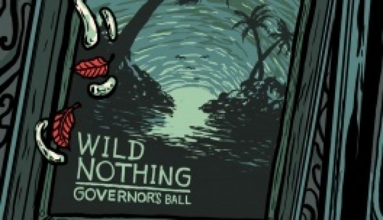 WIld Nothing Gig Poster for Governor's Ball