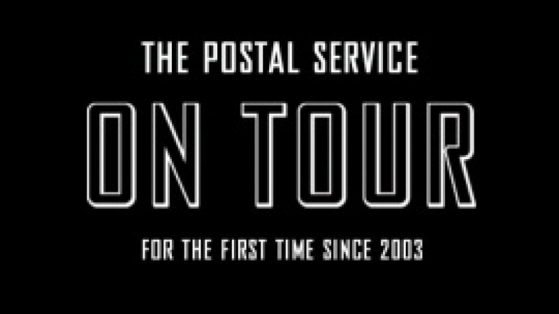 The Postal Service...2013!