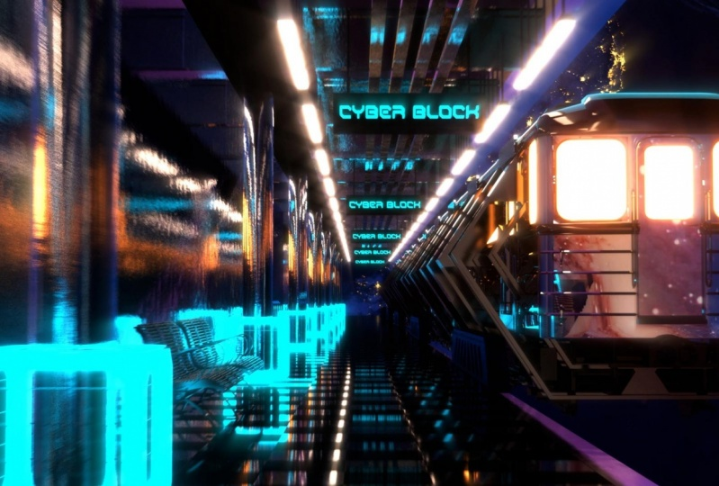 CYBER BLOCK SPACE STATION