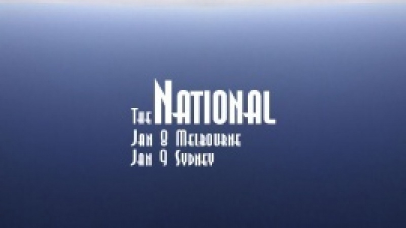 The National in Melbourne/Sydney