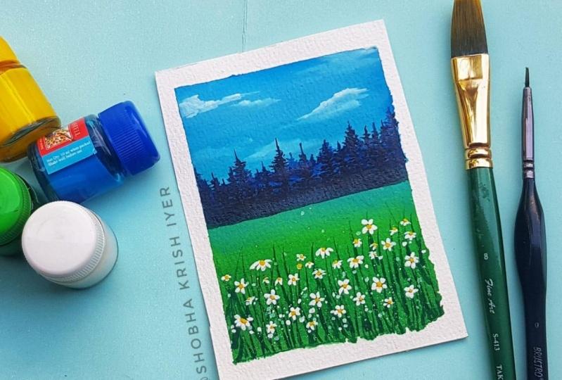 White meadows field