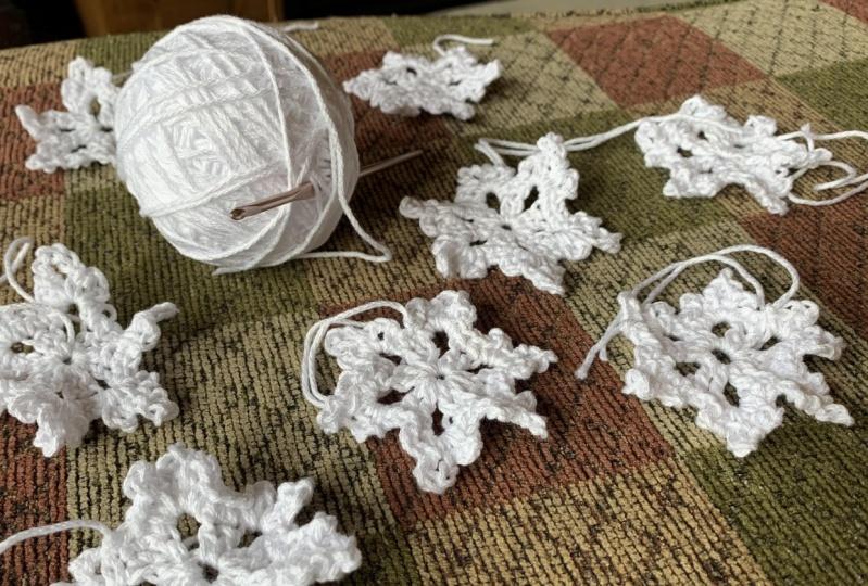 Snowflakes in Aspen