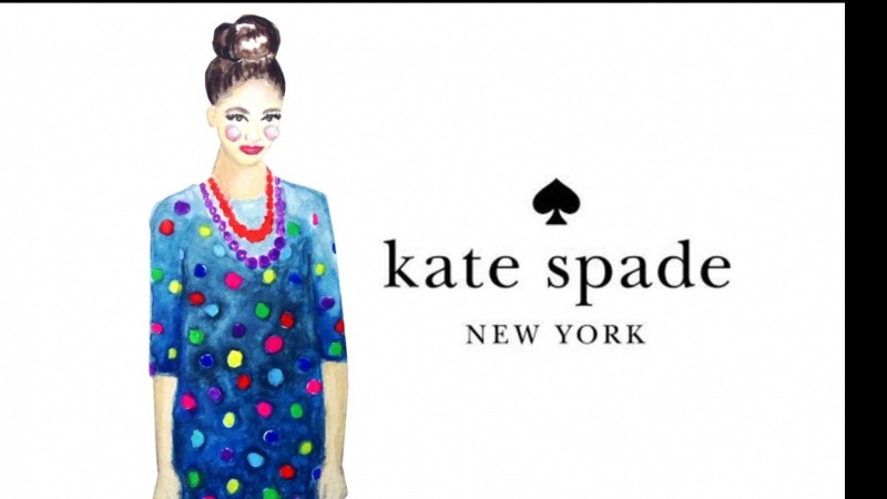 Kate Spade Fashion Watercolor