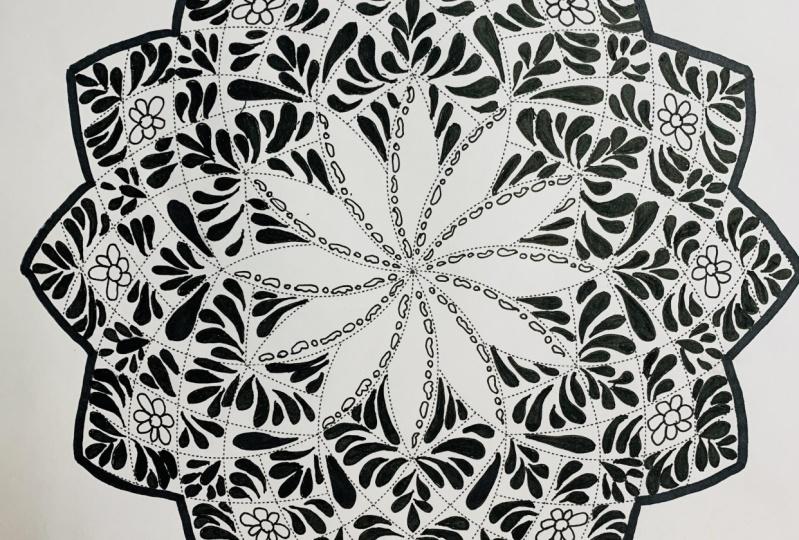 Mandala Art - Hoomyrah Rambhia