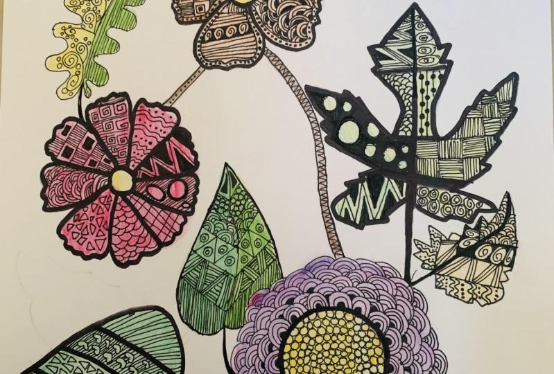 Zentangle Art - Hoomyrah Rambhia