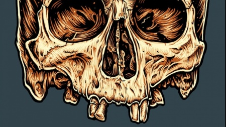 c022241a Illustrate A Screen-Printed Skull T-shirt From Photo Reference | Pale Horse  | Skillshare