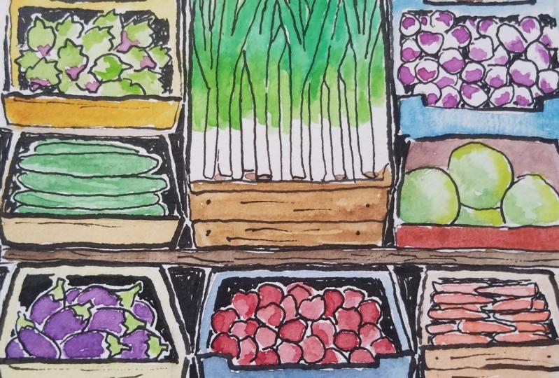 Food market project