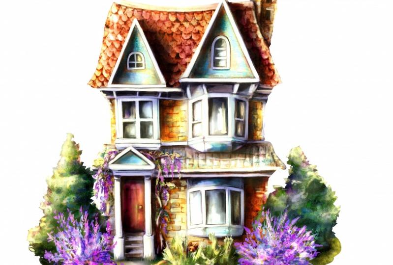 An English house