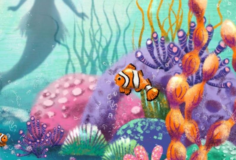 underwater greenery