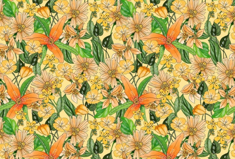"""""""Easy"""" Seamless Patterns In PhotoShop"""
