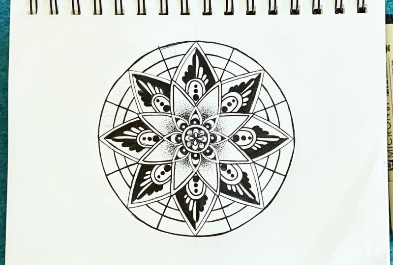 My first mandala