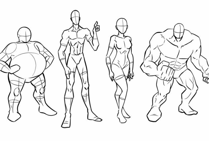 Drawing Unique Figures