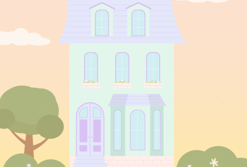 Candy Color Dream Home