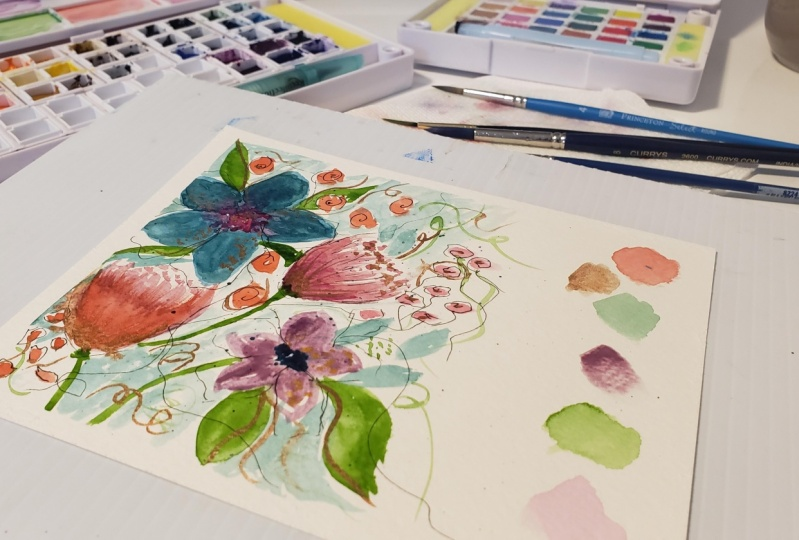 My Abstract Floral Project