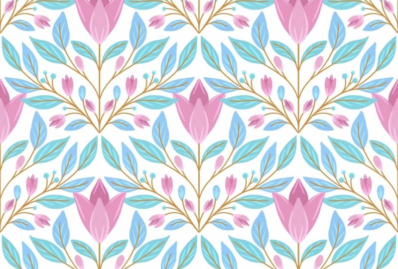 Diamond Flower pattern