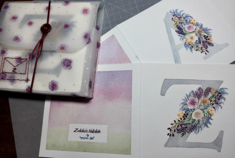 Stationery sets for the family