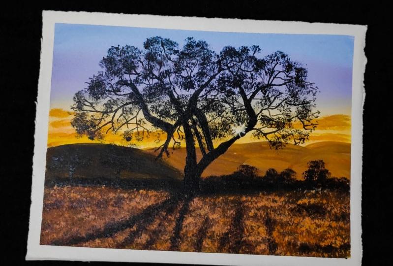 Easy Acrylic landscape painting