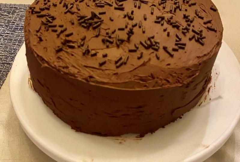 My finished cake!