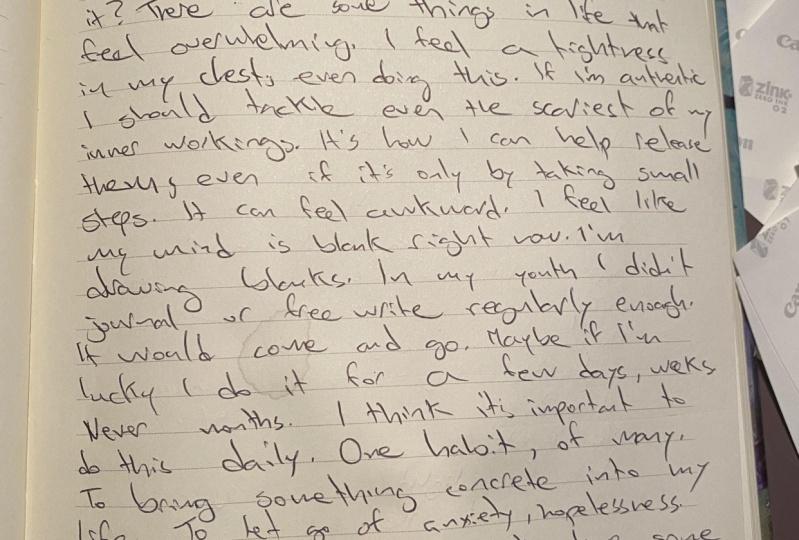 My journal journey…