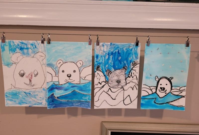 Polar bears everywhere