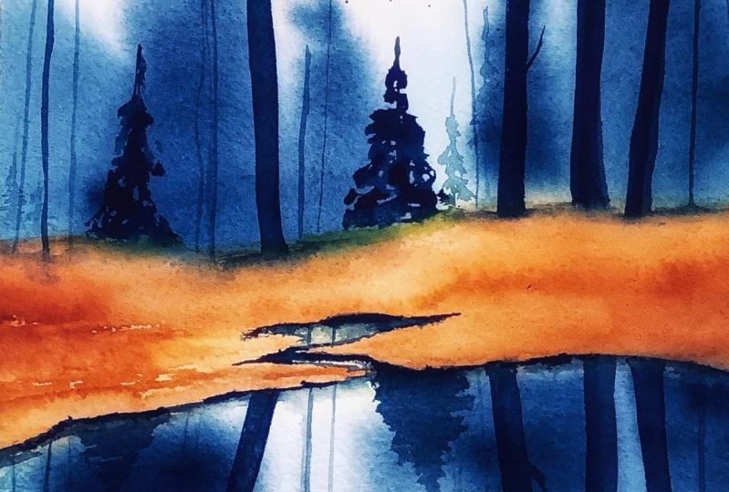 My eerie lake