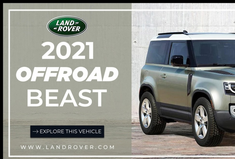 Twitter Graphic for Land Rover  Defender