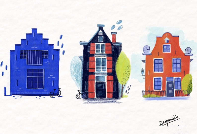 Drawing some homes