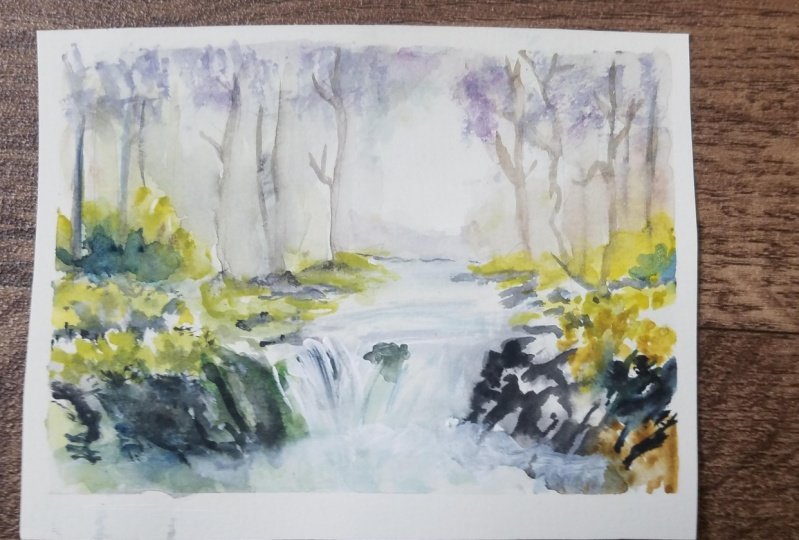 Experience the Outdoors: A Beginner's Guide To Watercolor Landscapes