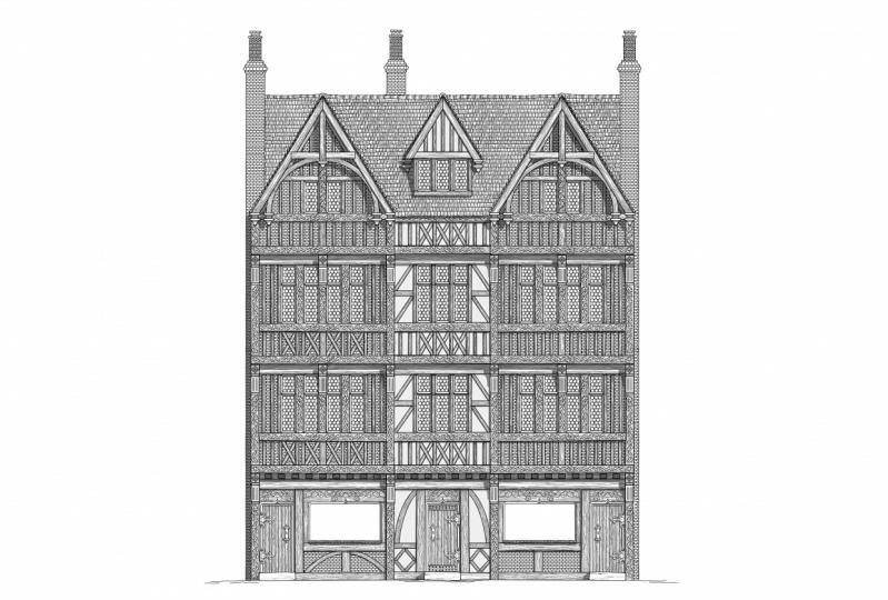 Merchant Family Townhouses/shops