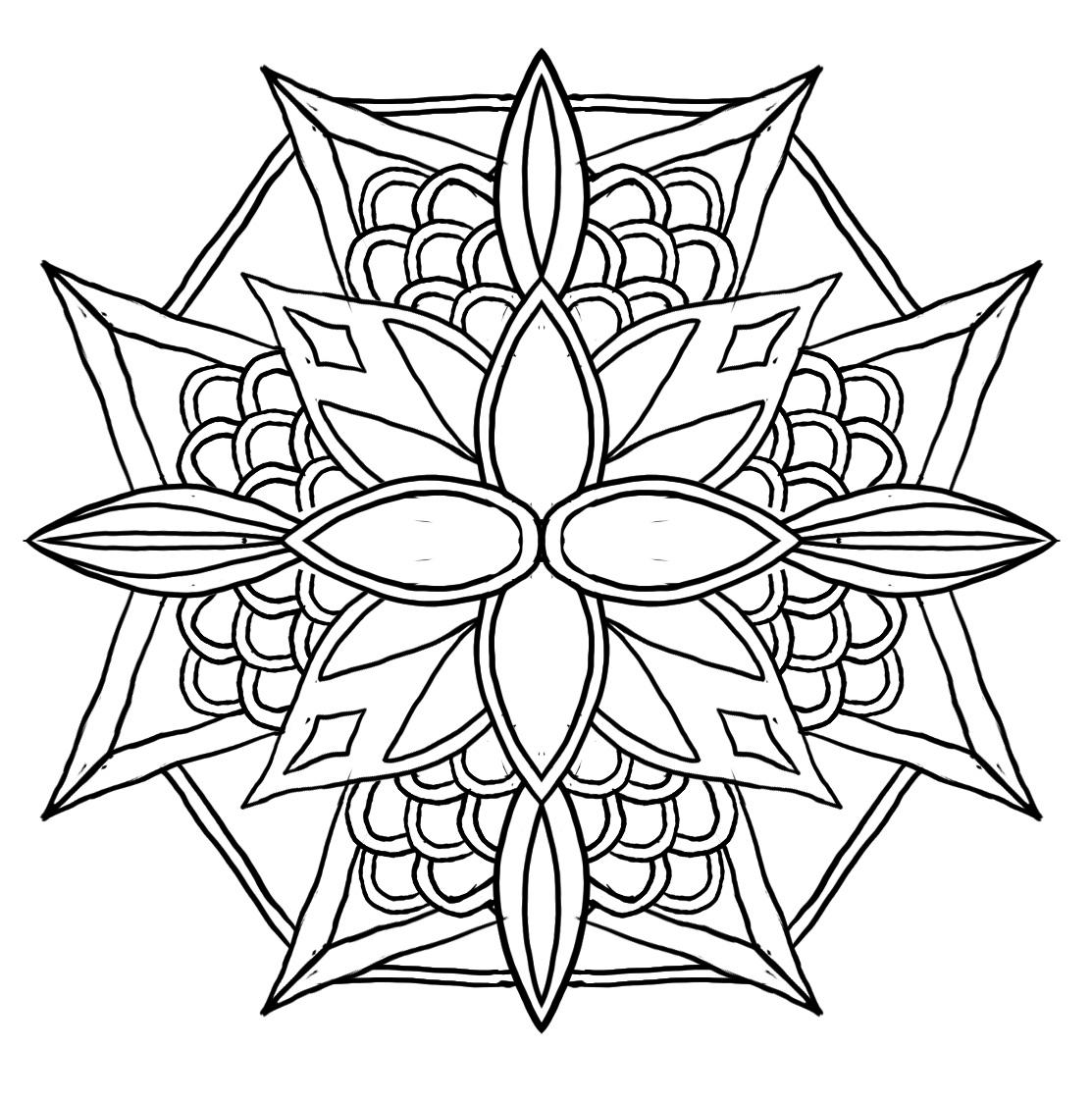 drawing for geometric design skillshare projects