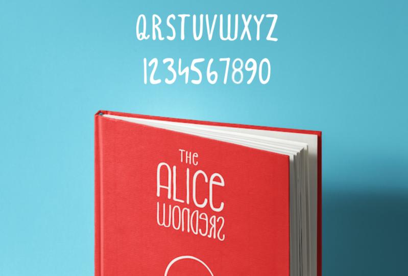 The Alice Wonders Font