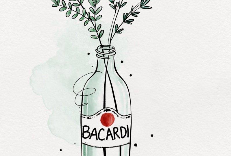Brenda and I will drink Bacardi together some day!
