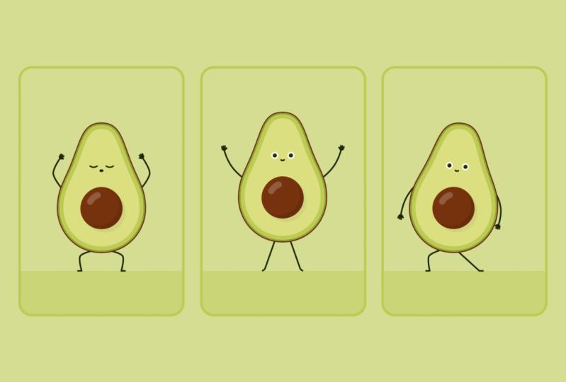 Animated Avocados