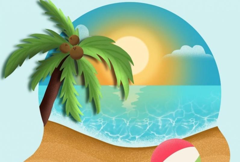 Summery Beach Flo