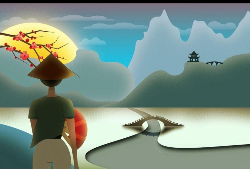 Animation China Scene