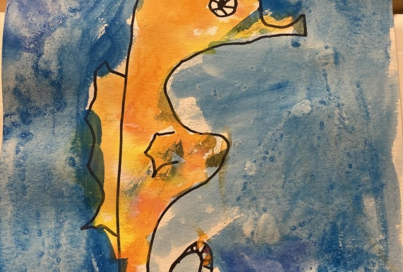 Sea horse by Lenny and Tomoko