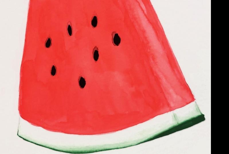 Watermelon and Peach!