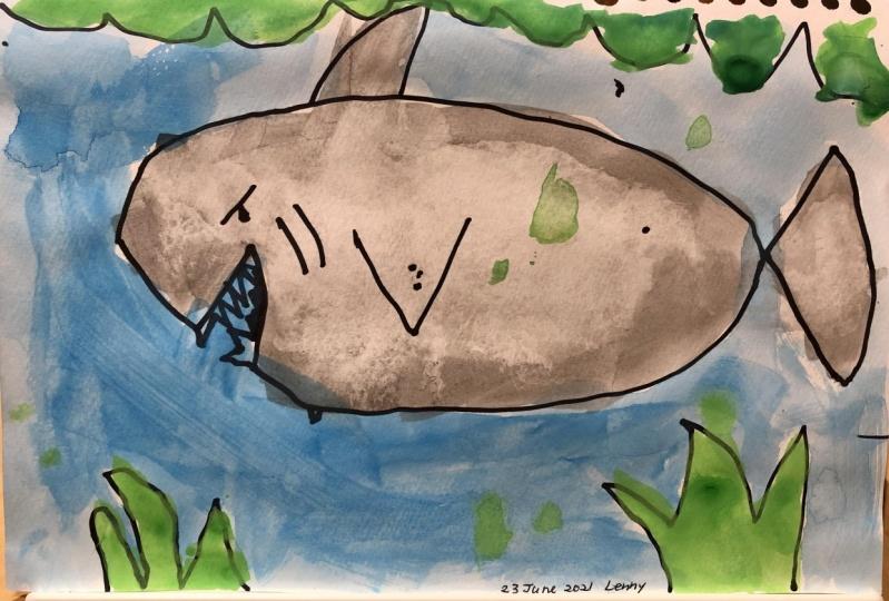 Shark by Lenny