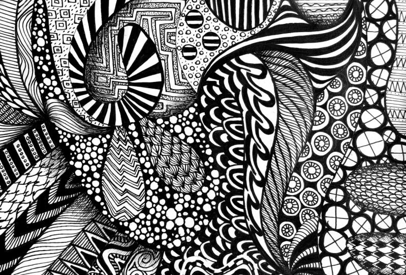 Pattern w/ Pens
