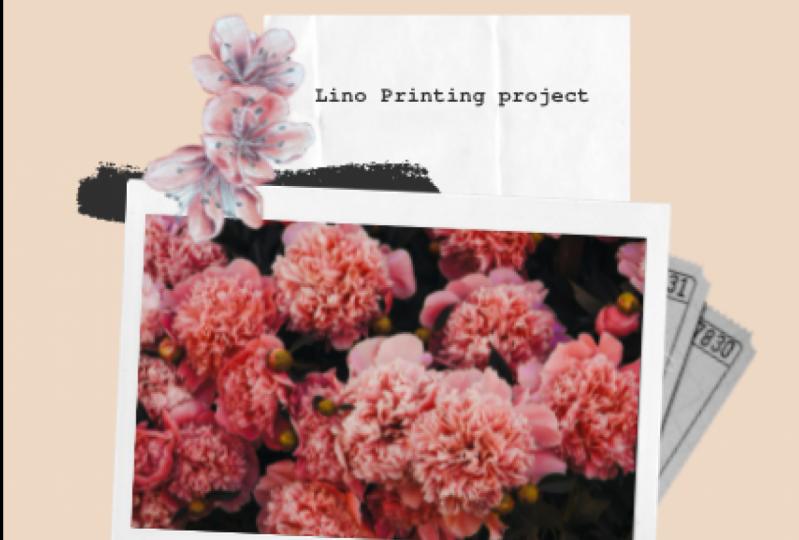 My Lino Printing project