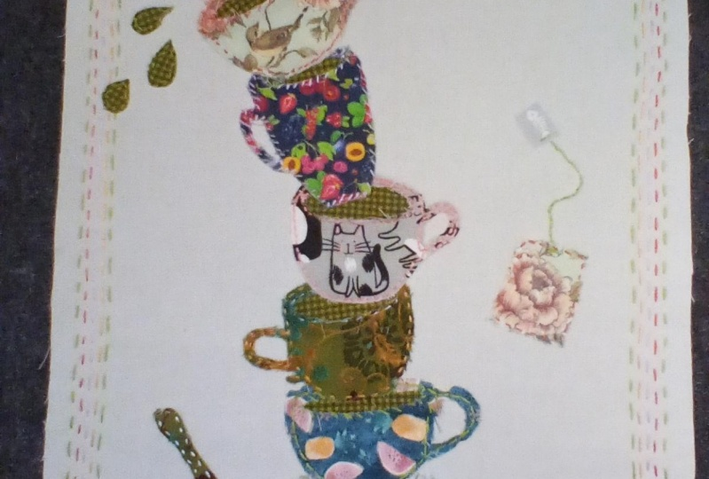 Five teacups