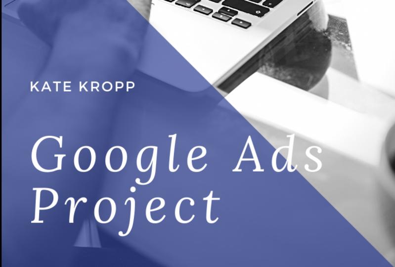Kropp Google Ads Class