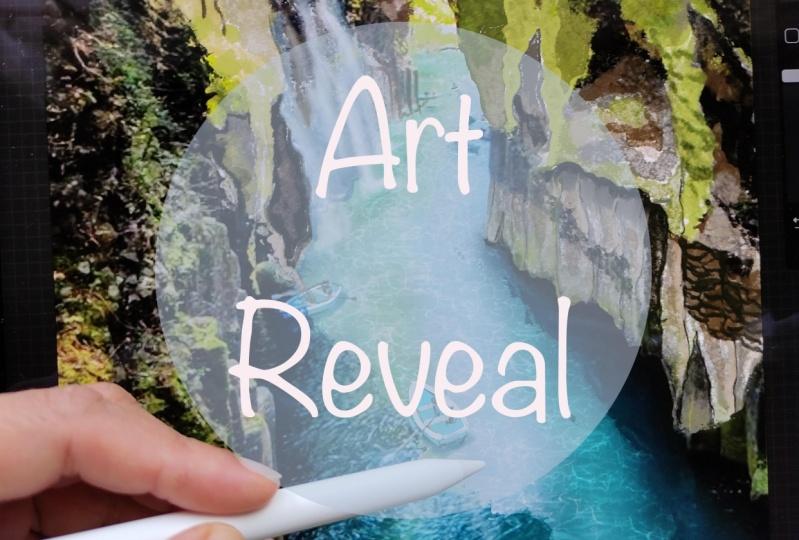 Art reveal, Photo vs Artwork
