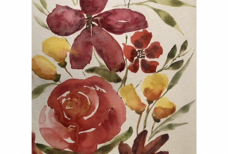 Learning loose florals