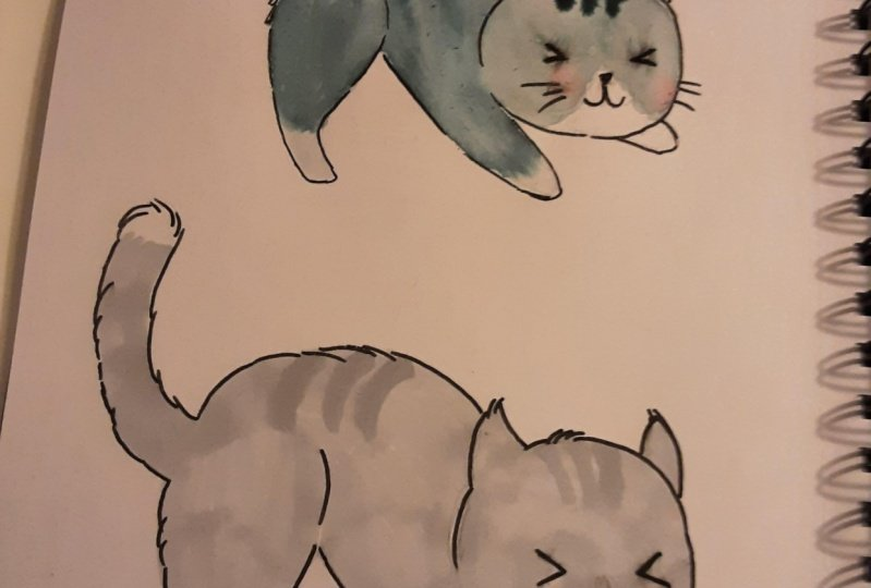 Thank you I love creating these cats in your lesson