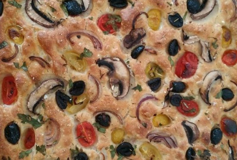 My first focaccia !
